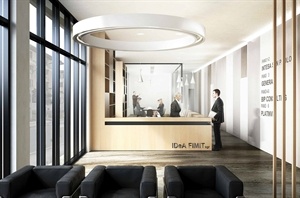 Lobby Renovation in Milan